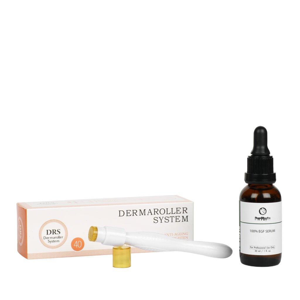 Dermastamp and serum kit