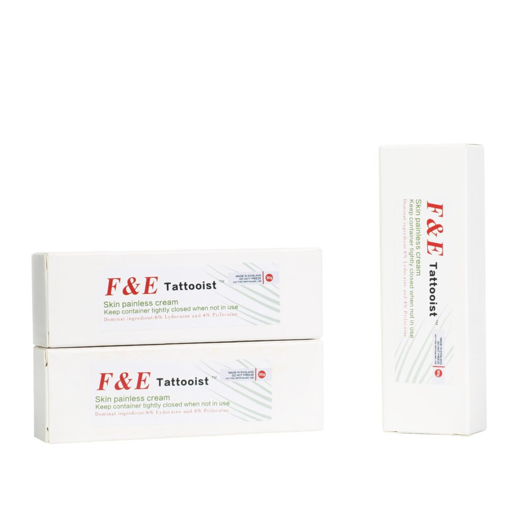 3x F&E Tattooist Numbing Cream