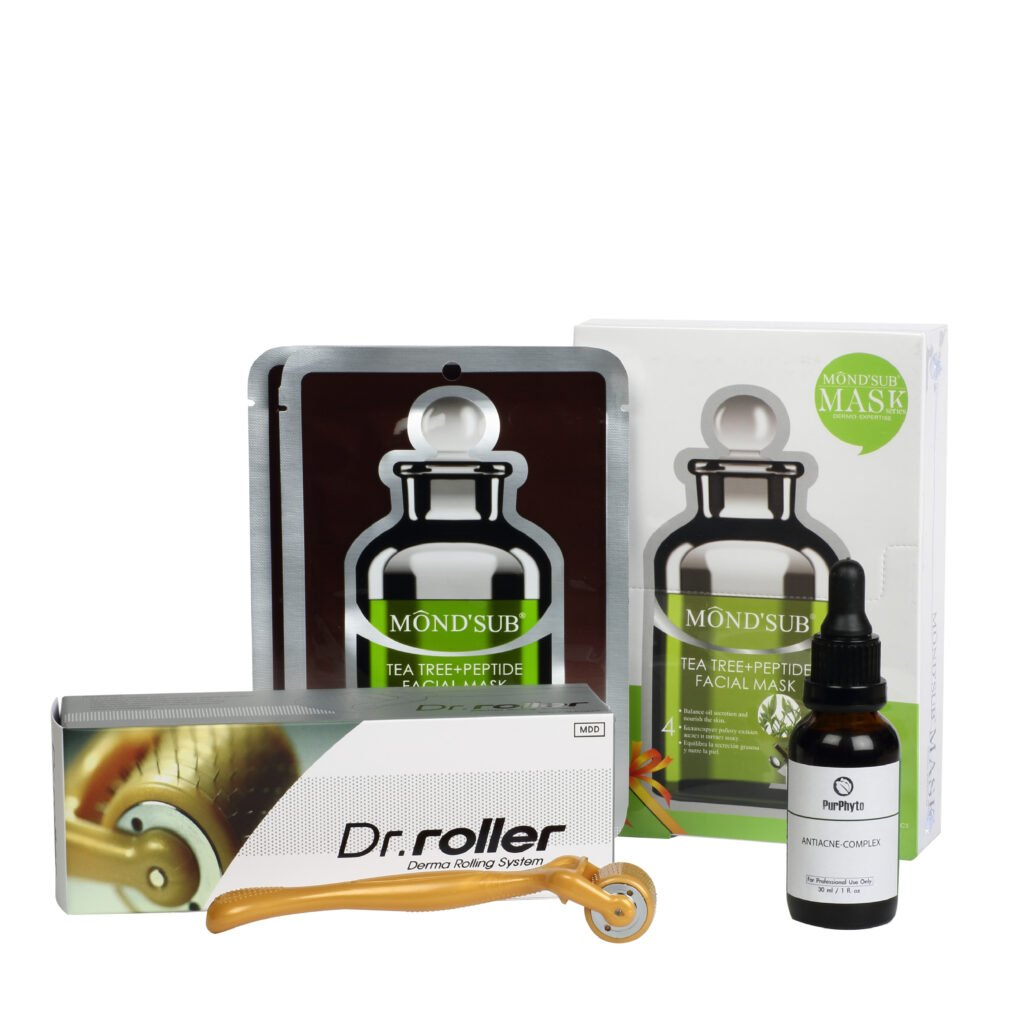 Mondsub mask and serum and dr. Roller