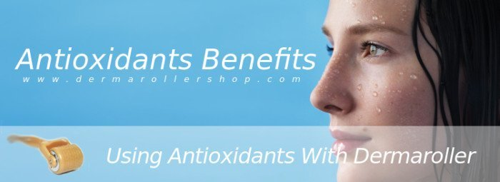 Antioxidants benefits with dermaroller
