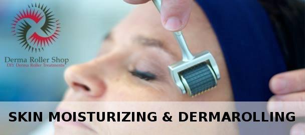 Moisturizing & dermarolling in conjunction rejuvenate skin & protect it from aging